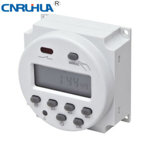 Cn101A Dhc15 Weekly Programmable DIN Rail Timer Switch pictures & photos