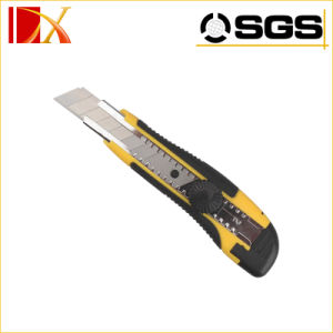 Assist ABS Durable Safe Easy Cut Retractable Hard 60c/Sk2/Sk4 Blade 18mm Utility Knife pictures & photos