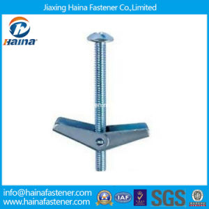 Zinc Plated Steel Toggle Bolt Anchor Spring Toggle Bolt pictures & photos