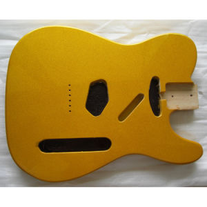 Gloss Finished Shoreline Gold Tele Guitar Body pictures & photos
