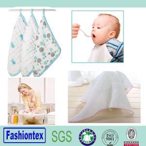 100% Cotton Muslin Washcloth, Gauze Cloth, Mini Baby Towel pictures & photos