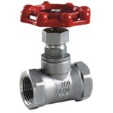 Precision Casting/Investment Casting Stainless Steel Threaded Globe Valve pictures & photos