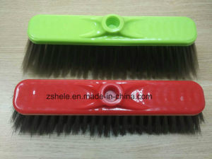 Cheaper Plastic Sweeping Broom with Bristle Brush (HL-A101L) pictures & photos