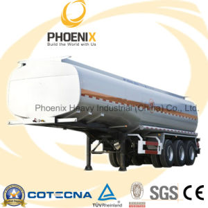 50tons 44000L 3 Axles Fuel Tank Semitrailer with Fuwa Axle pictures & photos