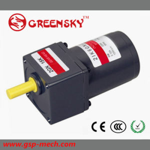 Competitive 60W 90mm AC Induction Gear Motor pictures & photos