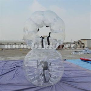 Kid Funny Outdoor PVC Bubble Ball for Football D5024 pictures & photos