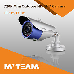 Waterproof Bullet Ahd Camera 720p 1.0MP Infrared CCTV Security Camera with CE FCC RoHS pictures & photos
