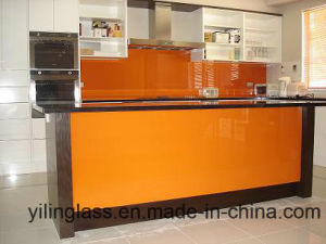 Serigraph Splashback Glass for Kitchen Wall pictures & photos