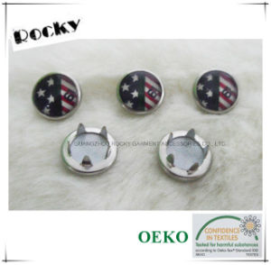 Metal Pearl Prong Snap Fastener Button for Shirt