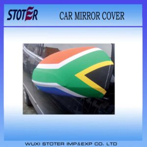 Cheap Promotion Car Mirror Cover/Flag