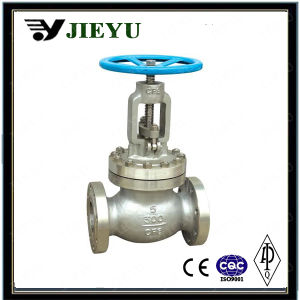 300lb CF8 Stainless Steel Flange Globe Valve pictures & photos