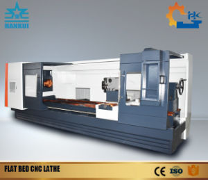 CNC Flat Bed Lathe Machinery of Great Guide Way pictures & photos
