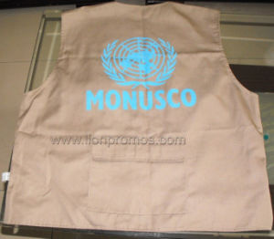 United Nation Logo News Reporter Muliti Pockets Jacket/Waistcoat pictures & photos