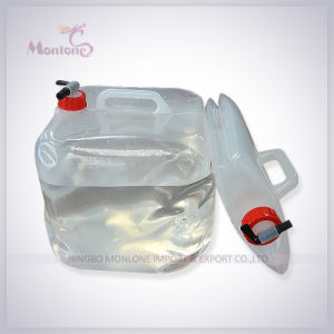 8L/10L15L FDA Approved PE/PVC Outdoor Camping Collapsible Water Container pictures & photos