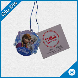 Fancy Design Custom Logo Shape Hang Tags for Kids Garment Label pictures & photos