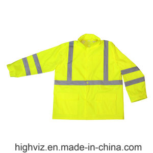 Reflective Safety Rainwear with ANSI107 Certificate (RW-001) pictures & photos