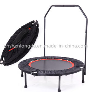 Sld-48inch Round Trampoline with Handrail, Fitness Trampoline pictures & photos