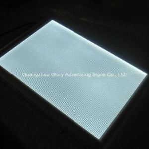 Plastic PMMA Acrylic Light Guide Plate LGP for LED Panel Signs pictures & photos