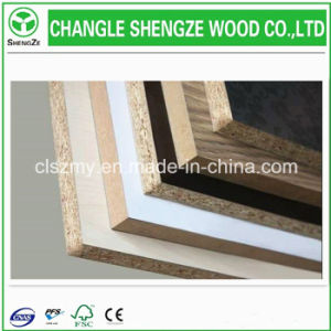 Furniture Grade Melamine/Raw Chipboard/Particle Board pictures & photos