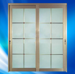 As2208 Certified Glass Aluminium Door