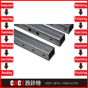 Satisfactory Service and Product Steel and Fabrication pictures & photos