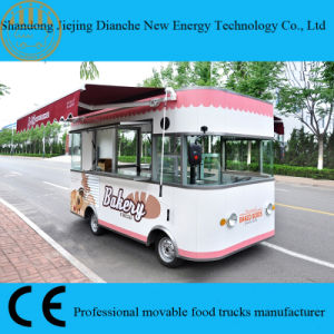 Double Shelters Food Truck Van for Selling Cakes and Biscuit (CE) pictures & photos
