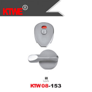 New Design Zinc Alloy Toilet Indicating Door Lock (KTW08-146)