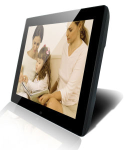 15 Inch Temper Glass Digital Photo Frame pictures & photos