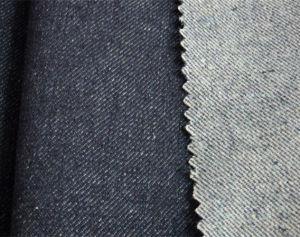 14oz Cotton Polyester Denim Fabric (XCFZ-111)
