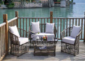 European Style Wicker Patio Garden Rattan Furniture pictures & photos