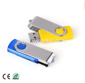 Popular Swivel USB Flash Drive for Promotion