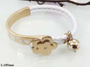 2014 New Style Fashion Stainless Steel Bead Bracelets for Lady