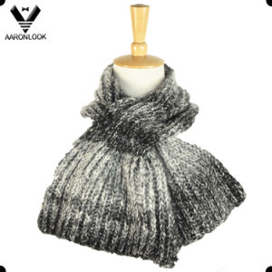 2017 New Fashion Ombre Knitted Mermaid Tail Scarf pictures & photos