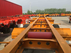 3axle 40ton 40FT Skeletal Container Semi-Trailer pictures & photos