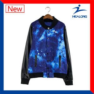 Healong Amazing Design Dye-Sublimation Baseball Jacket pictures & photos