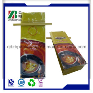 Plastic Side Gusset Bag for Coffee pictures & photos