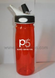 Elegant Strawberry Plastic Water Bottle pictures & photos