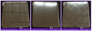 Foshan Embossed Stainless Metal Sheet for Subway Floor Decoration pictures & photos