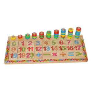 Wooden Number & Match Board for Education pictures & photos