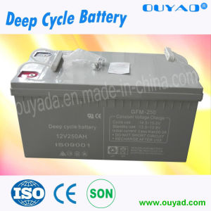Factory Price of 12V 200ah Solar Storage Power Battery Solar Battery pictures & photos