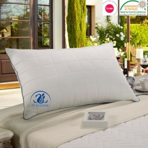 Naturally Hypo-Allergenic Quilted Bamboo Pillow