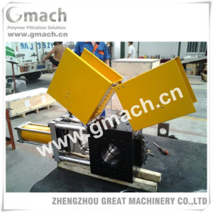 Single Slide Plate Type Double Working Station Screen Changer for Plastic Recycling Granulating Extruder pictures & photos