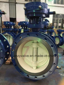 Steel Plant Chemical Works Hard Sealing Butterfly Valves pictures & photos