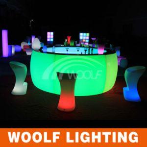 More 300 Designs LED Furniture LED Illuminated Bar Stool Furniture pictures & photos