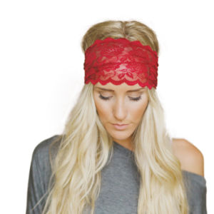 New Style 2017 Women Headwrap Fashion Lace Wide Hot Sale Female Casual Headpiece Headwear Bohemian Headwrap Apparel Accessories pictures & photos