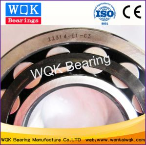 Wqk Bearing 22314e1c3 Steel Cage Spherical Roller Bearing pictures & photos