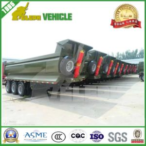 3 Axle U Shape Front Lifting Tipping Trailer
