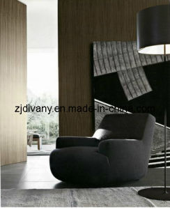 European Style Living Room Fabric Seating Leisure Sofa Single Sofa (D-42) pictures & photos