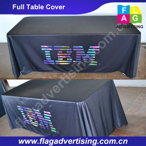 High Quality 6FT and 8FT Full Color Printing Full Table Throw