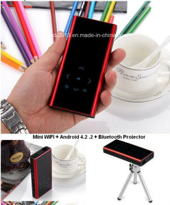 Newest Bluetooth /WiFi / Android4.4 Smatr Phone Projector pictures & photos